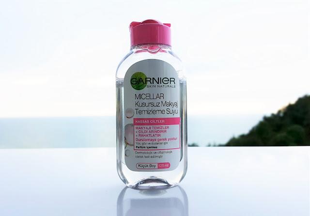 Garnier Çift Fazlı Göz Makyaj Temizleyicisi ve Kusursuz Makyaj Temizleme Suyu