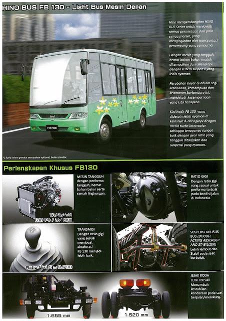 brosur hino bus fb 130