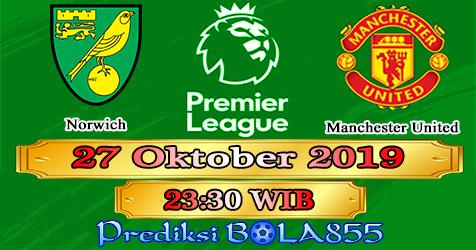 Prediksi Bola855 Norwich vs Manchester United 27 Oktober 2019
