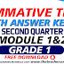 Summative Test GRADE 1 Q2
