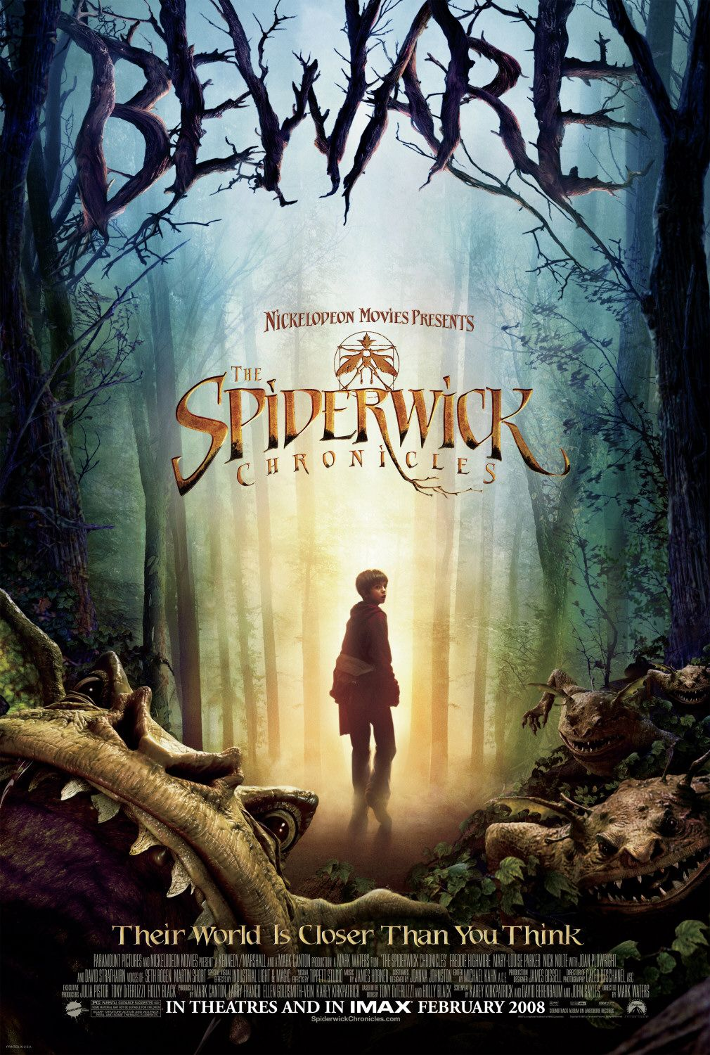 "Lolo Loves Films: Movie Review: ""The Spiderwick Chronicles"" (2008)"