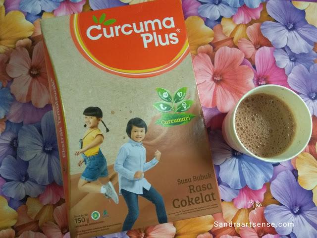 Review Susu Curcuma Plus
