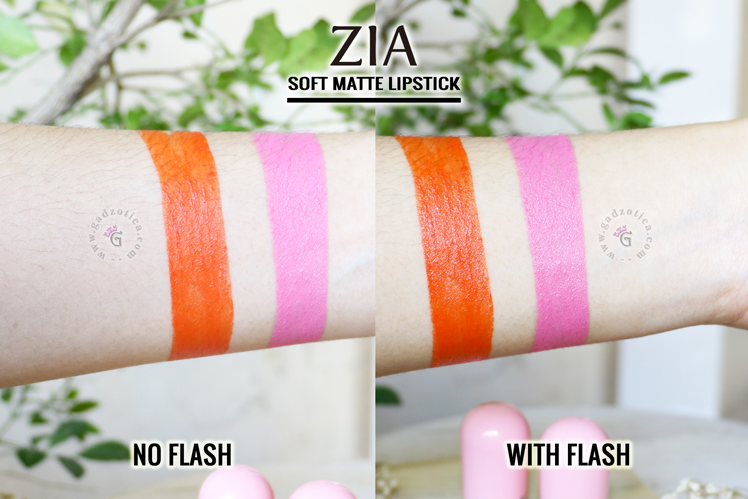 Zia Soft Matte Lipstick