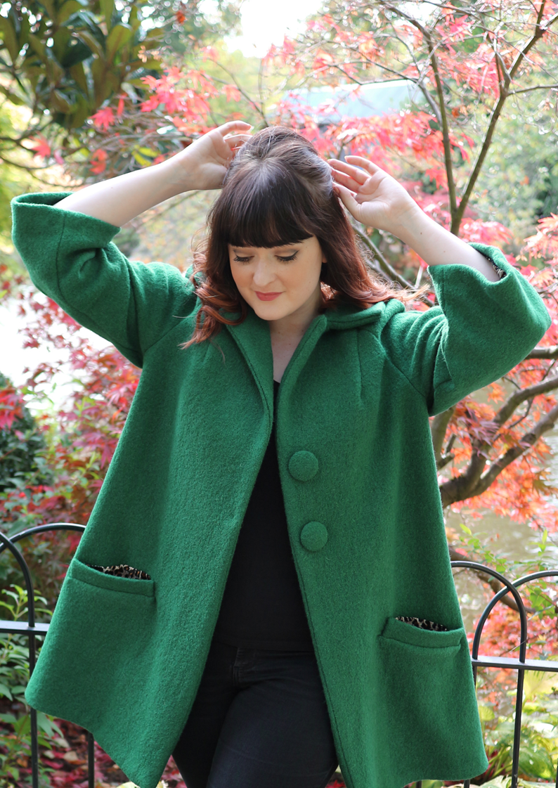 Vintage Dressmaking with The Crafty Pinup; 1960s coat