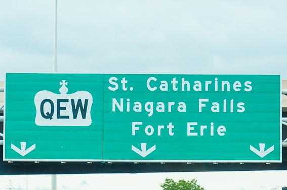Cartel cataratas Niagara Canada