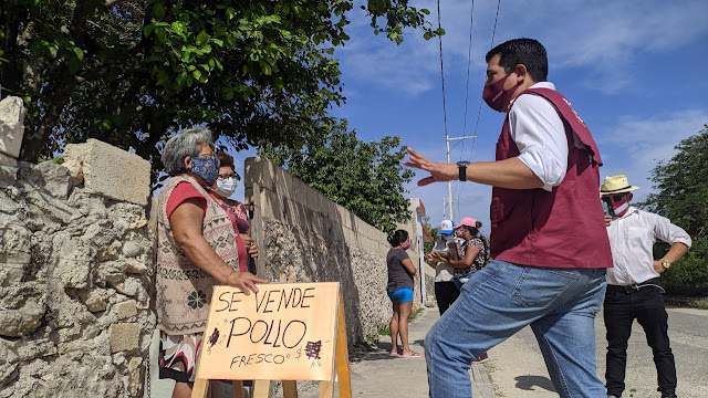 Vacunación en Mérida, un logro más de la Cuarta Transformación