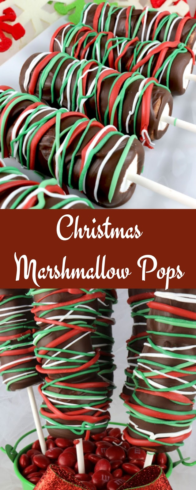 Christmas Marshmallow Pops