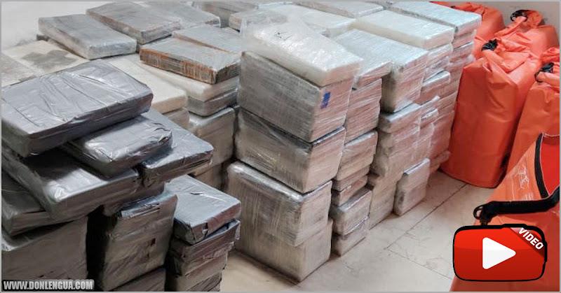 Capturados con 4200 kilos de cocaína venezolana llegando a las costas de Galicia