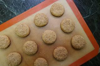 cookies, delicious, easy, egg-free, eggless, honey, honey and tahini cookies, Recipe, sesame, simple, tahini, vegan,