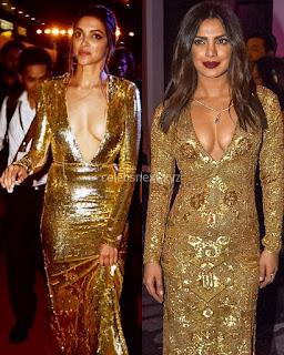 Deepika Padukone Promoting   Return of Xander Cage in India in Golde Gown 96 .xyz.jpg