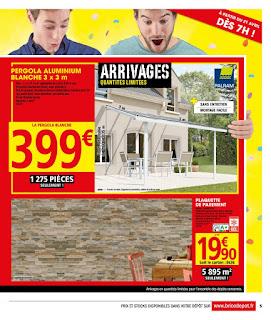 Catalogue Brico Dépôt 21 Avril au 04 Mai 2017