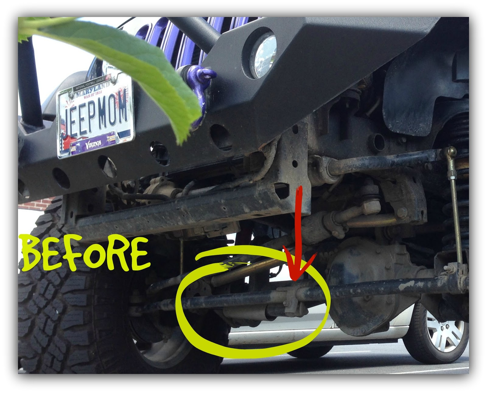 Jeep Momma Blog New Parts Leak Jk Tip If You Are Still Running Your Oe Stabilizer Take Off That Boot This Original Equipment Also Comes With A Plastic