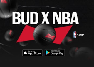 Promoção NBA e Budweiser Viagem Assistir NBA 2021 e Kits - BUD x NBA