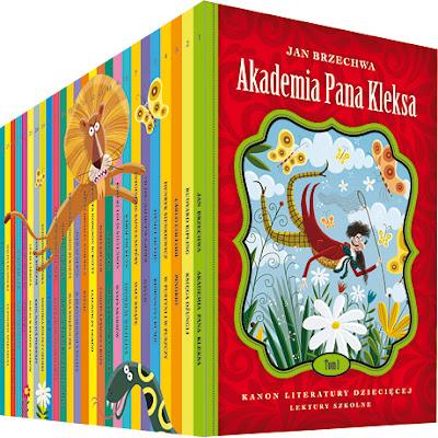 Już od jutra nowa kolekcja, czyli Kanon literatury dziecięcej!