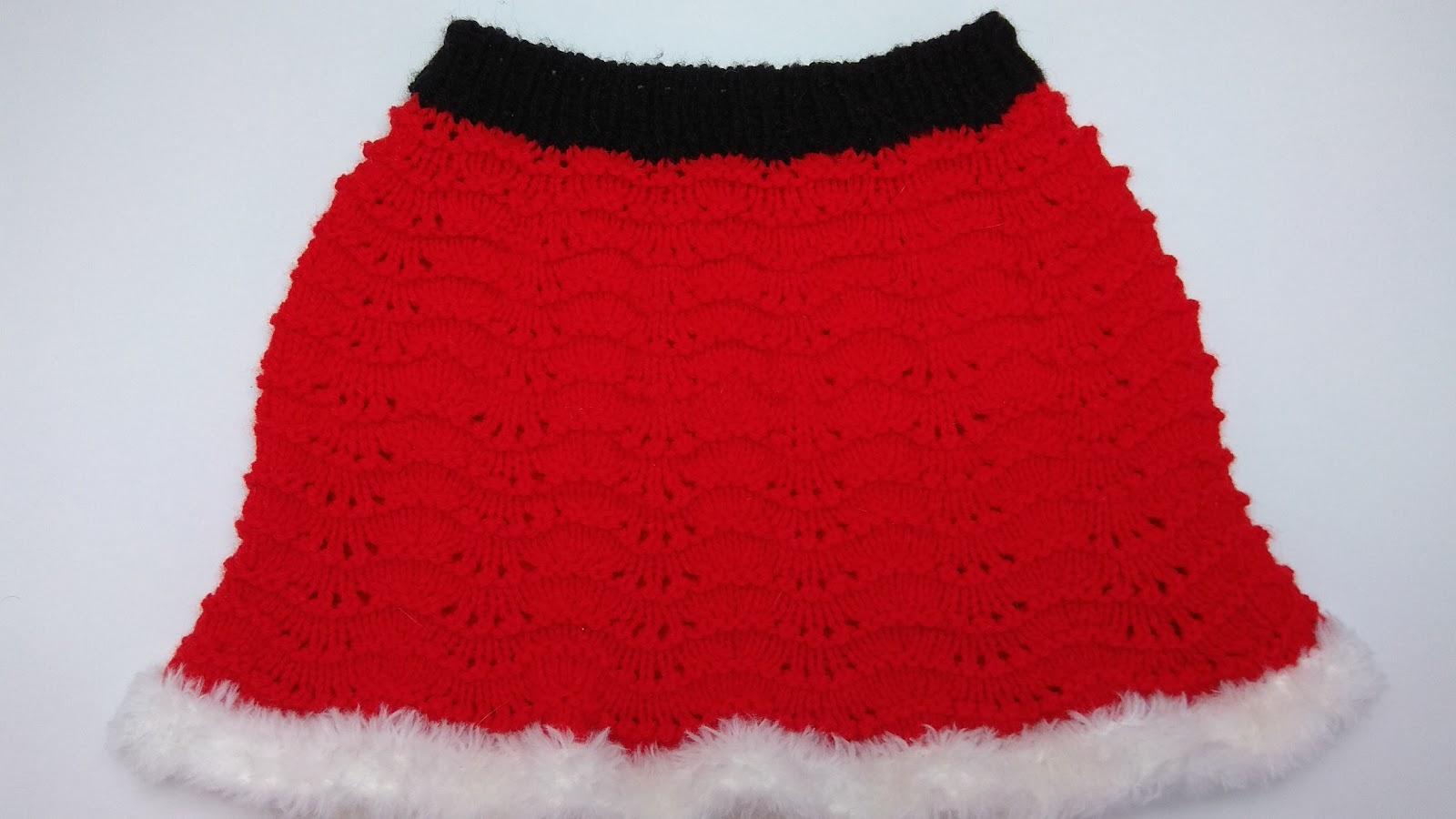 Christmas Baby Skirt