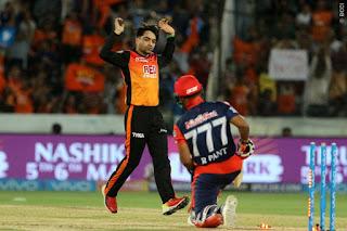 SRH vs DD 36th Match IPL 2018 Highlights