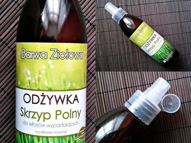 Barwa Ziołowa - Odżywka Skrzyp Polny do włosów wypadających