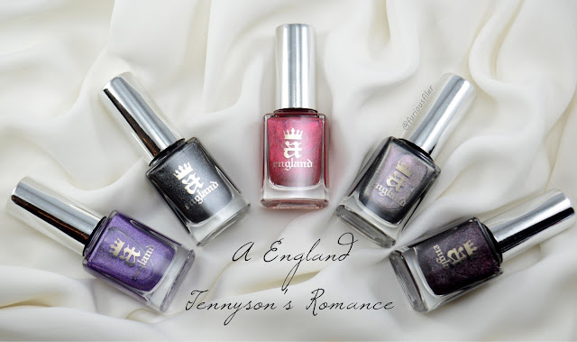 a england tennyson's romance review swatches furious filer