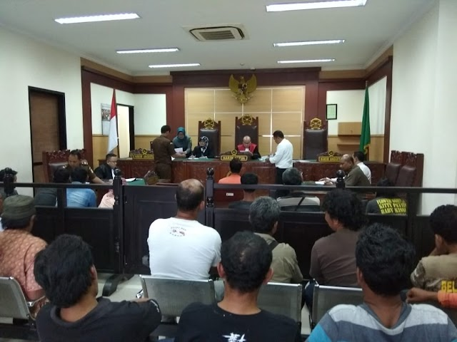Sidang Tipiring Pedagang K-5: Baru Pertama Kali Saya Injak Pengadilan