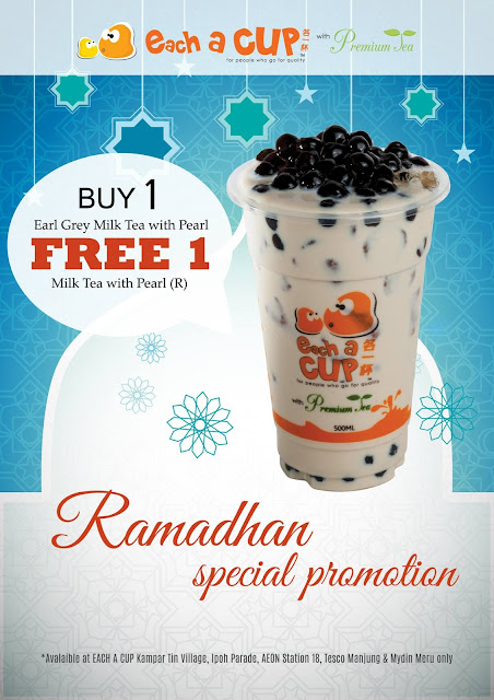 Each A Cup Malaysia Buy 1 Free 1 Promo