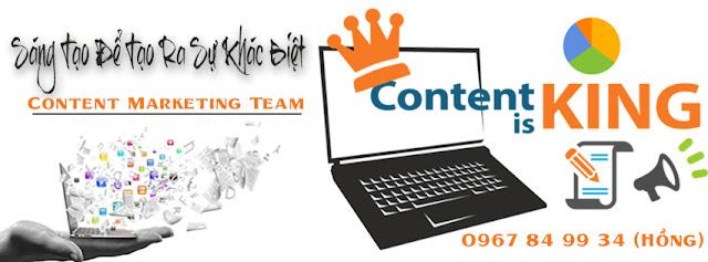 Dịch vụ contents | Viết bài seo giá rẻ