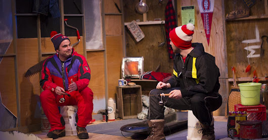 "Get Hooked on Hilarious ""Guys on Ice, an Ice Fishing Musical Comedy"""