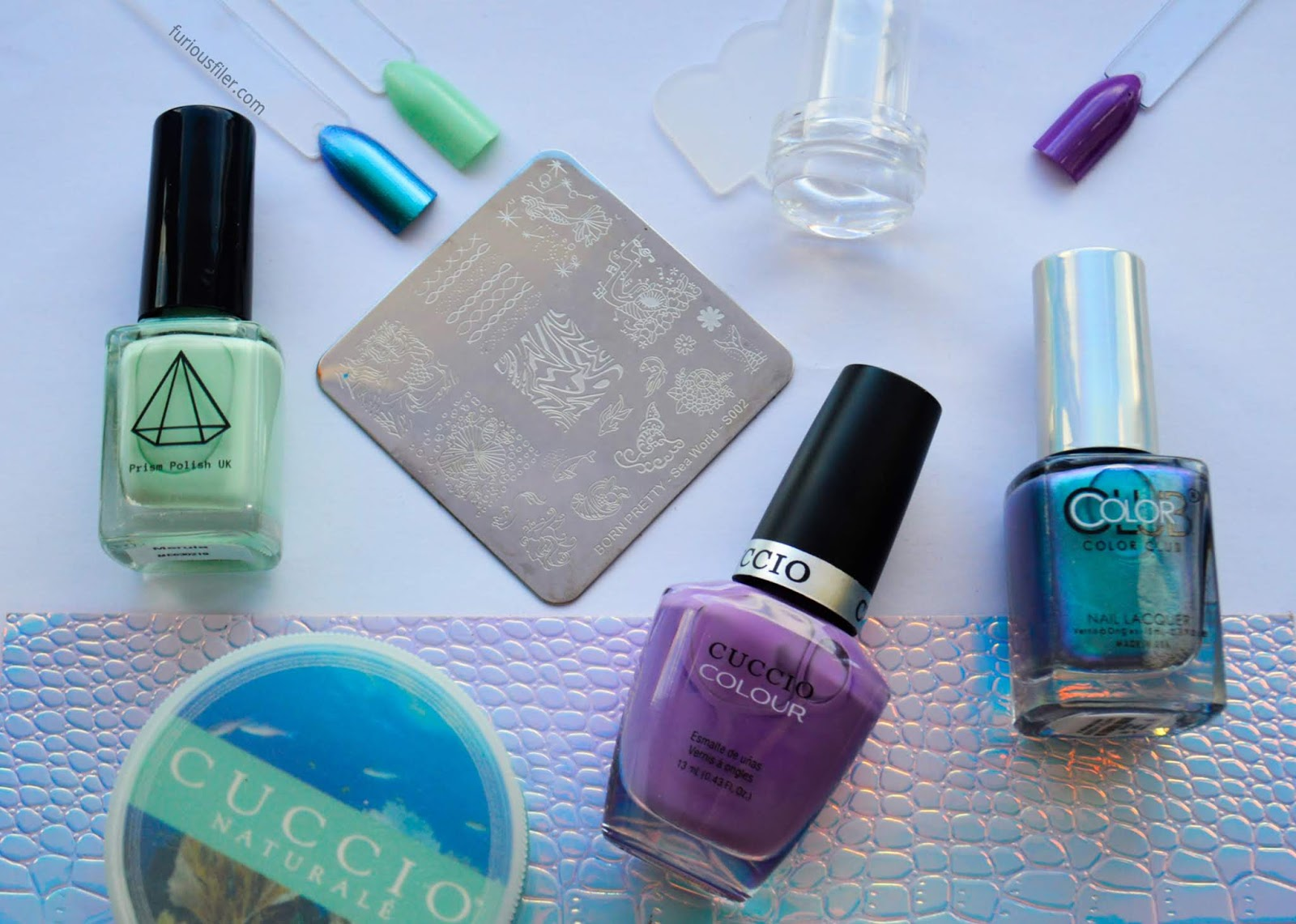 meebox atlantis review summer mermaid nails