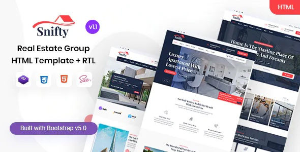 Best Real Estate Group HTML Template
