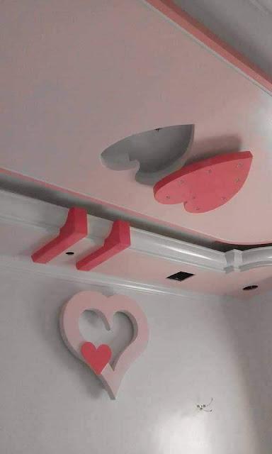 ديكورات جبس غرف النوم رومانسية