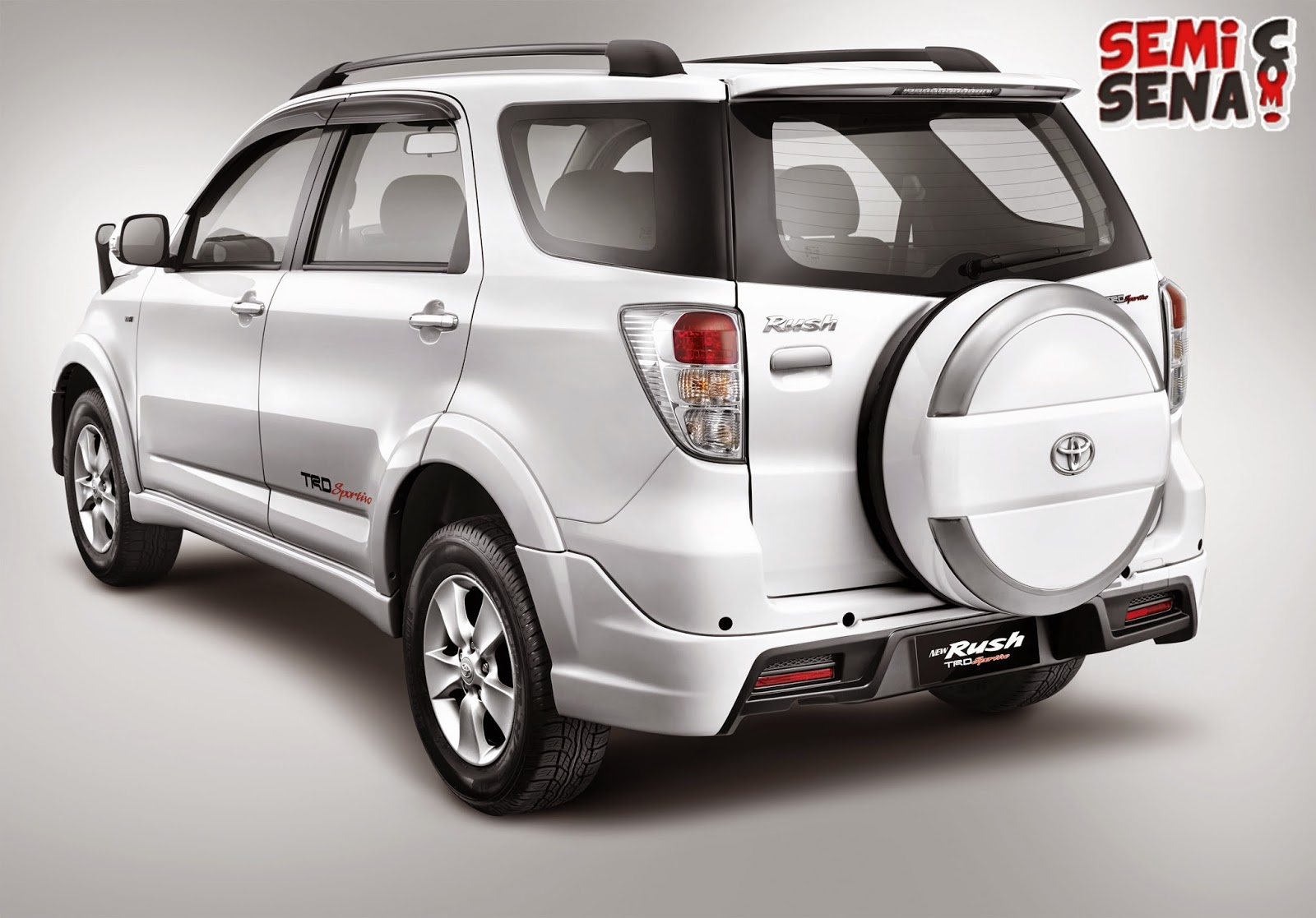 Specifications And Latest Price Toyota Rush