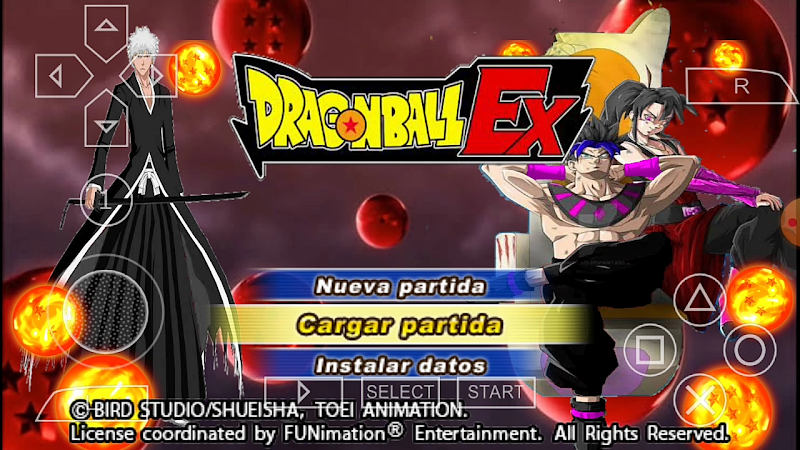Android PSP Game Dragon Ball EX DBZ Tenkaichi Tag Team Mod Download