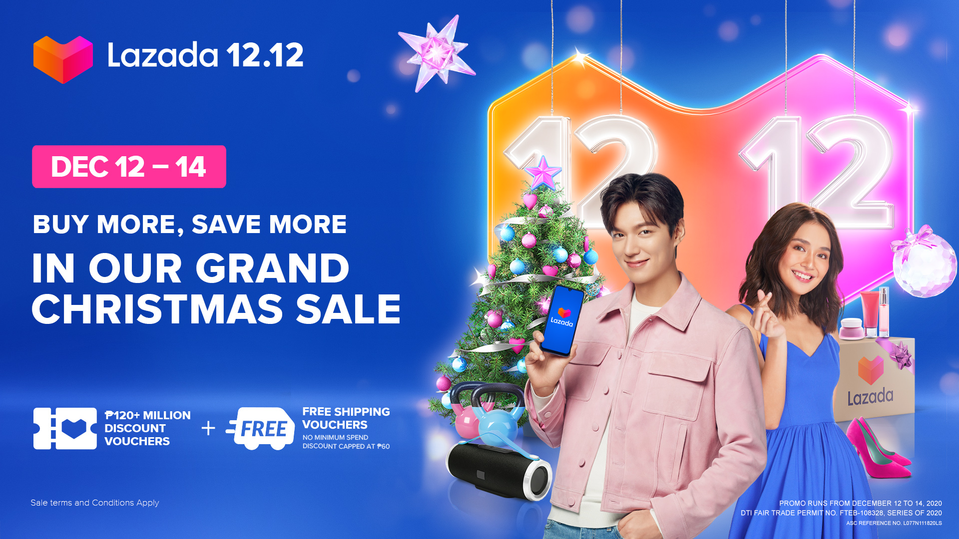 Lazada 12.12 Grand Christmas Sale