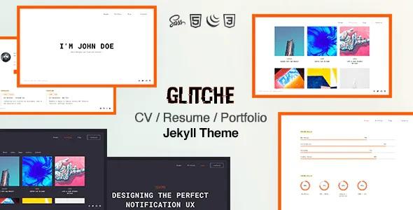 Best Resume CV & Portfolio Jekyll Theme