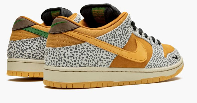 Nike SB Dunk Low Safari Back Shot
