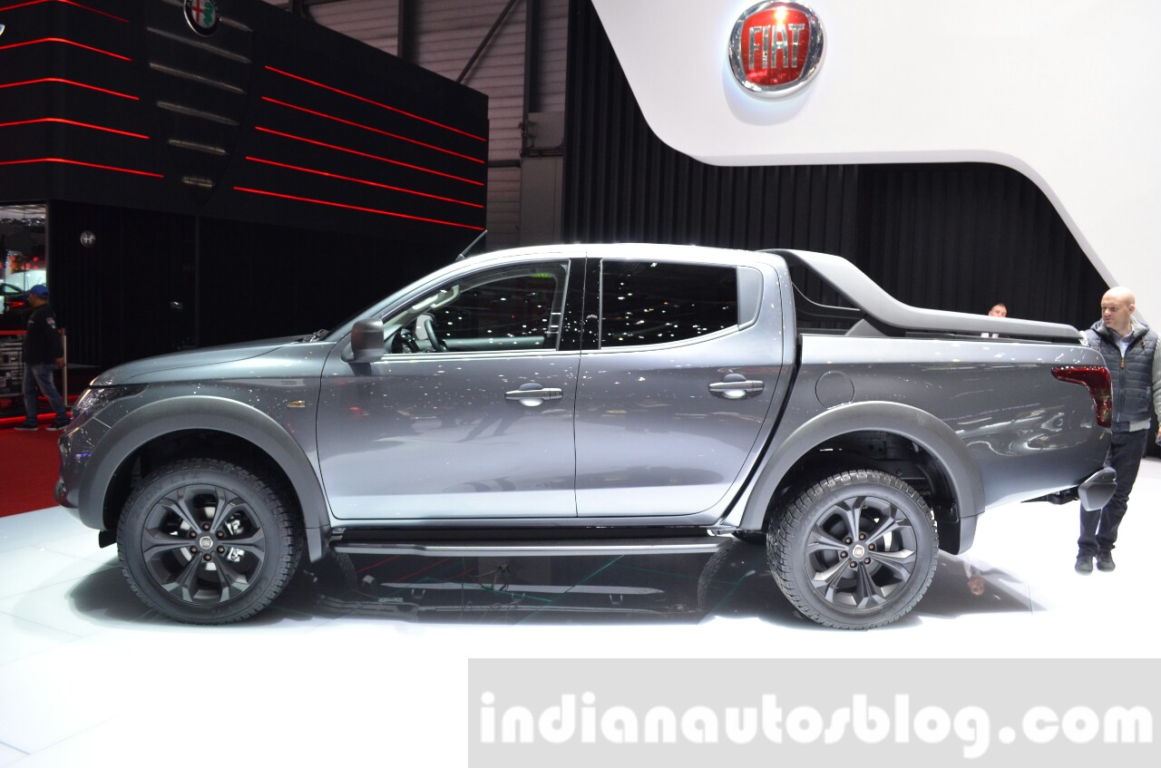 Beautiful MZ Crazy Cars Fiat Fullback    Geneva Motor Show