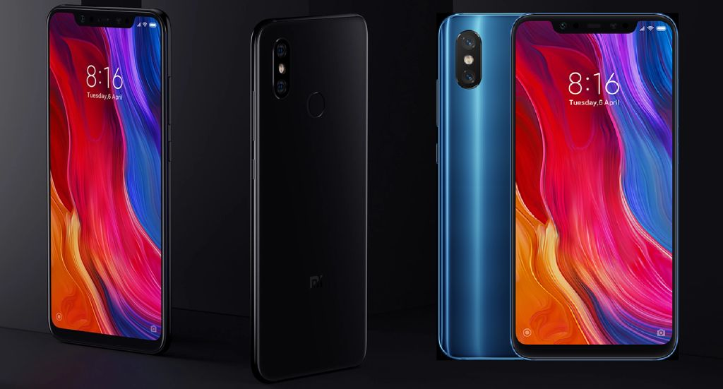 Xiaomi Mi 8 (2018) with Specifications and Prices