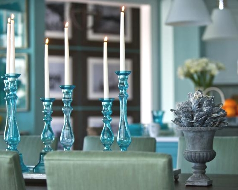 coastal ideas for dining room table