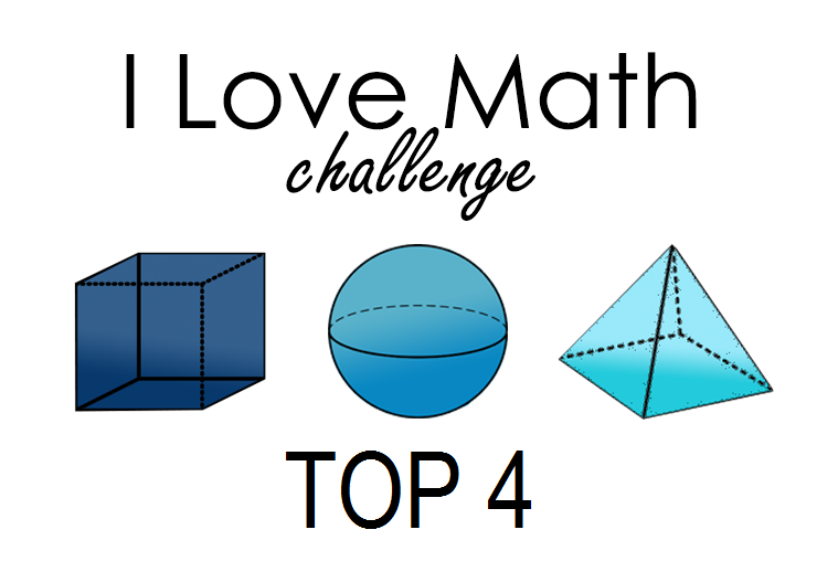 Top4 and Winner at  I Love Math Challenge#4