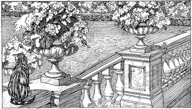 an Edmund J. Sullivan illustration 1899