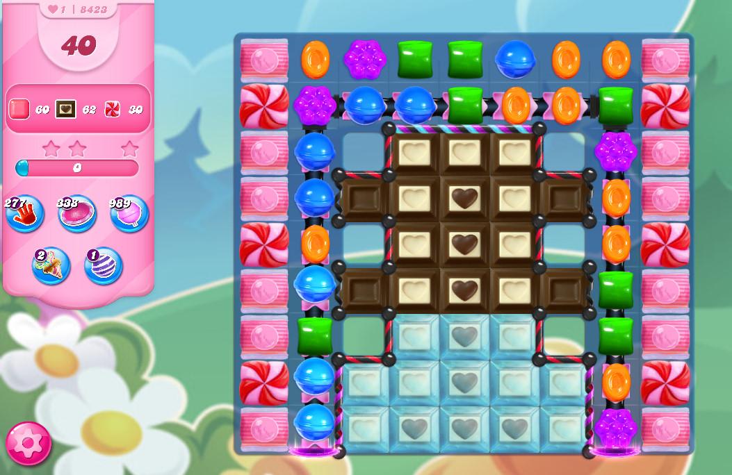 Candy Crush Saga level 8423