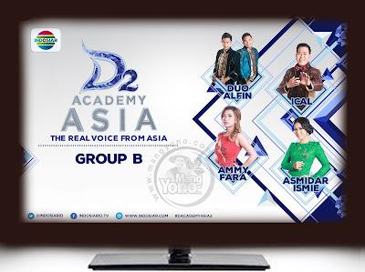 D'Academy Asia 2 Babak 12 Besar Grup B