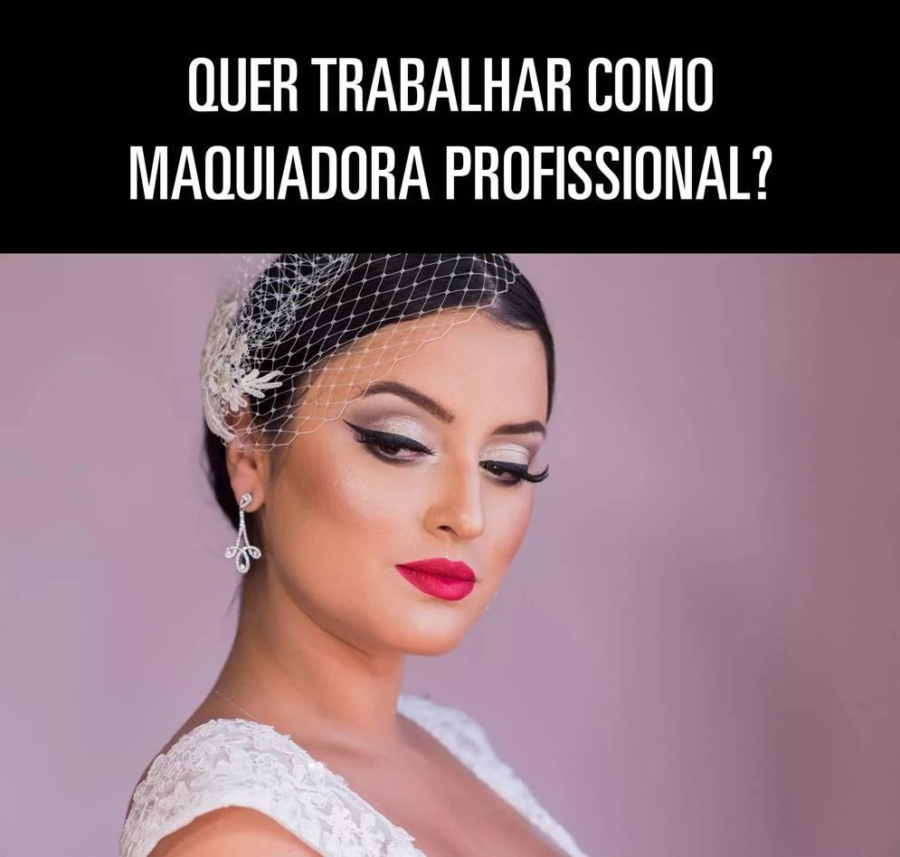 Curso profissional de maquiagem em noivas