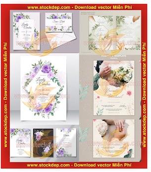 Chia sẻ mẫu thiết kế thiệp cưới mới nhất 2020