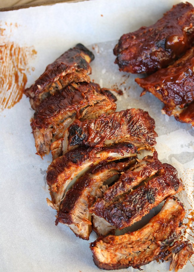 Oven Baked Bbq Ribs Food Network