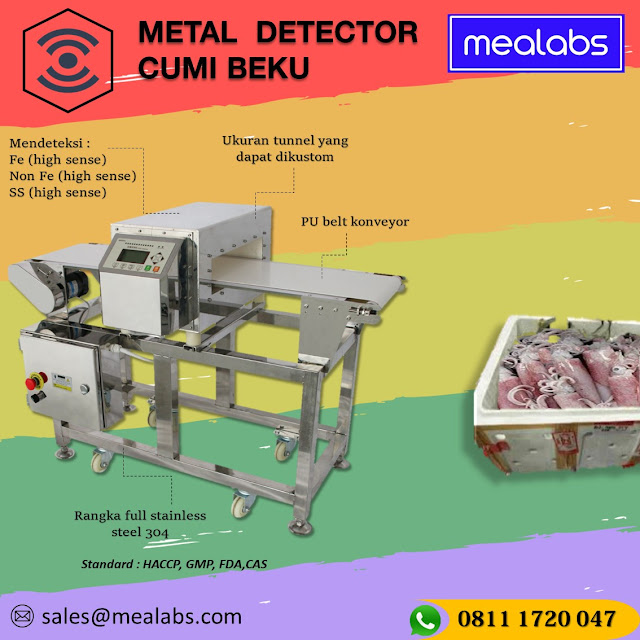 metal detector cumi beku