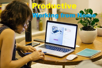 How to be Productive Working from Home Aimforcent