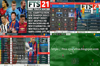 FTS 21 Apk by Gilagame