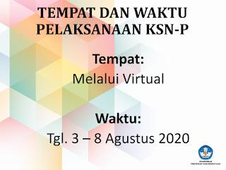 Update Kelanjutan Kompetisi Sains Nasional Tingkat Kabupaten (KSN-P)