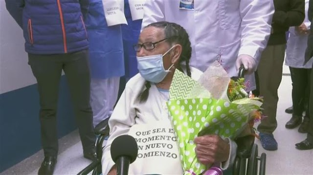92-year-old Colombian woman overcomes COVID-19, but loses son to deadly virus