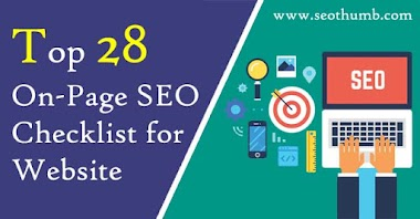 Top 28 On-Page SEO Checklist for Website